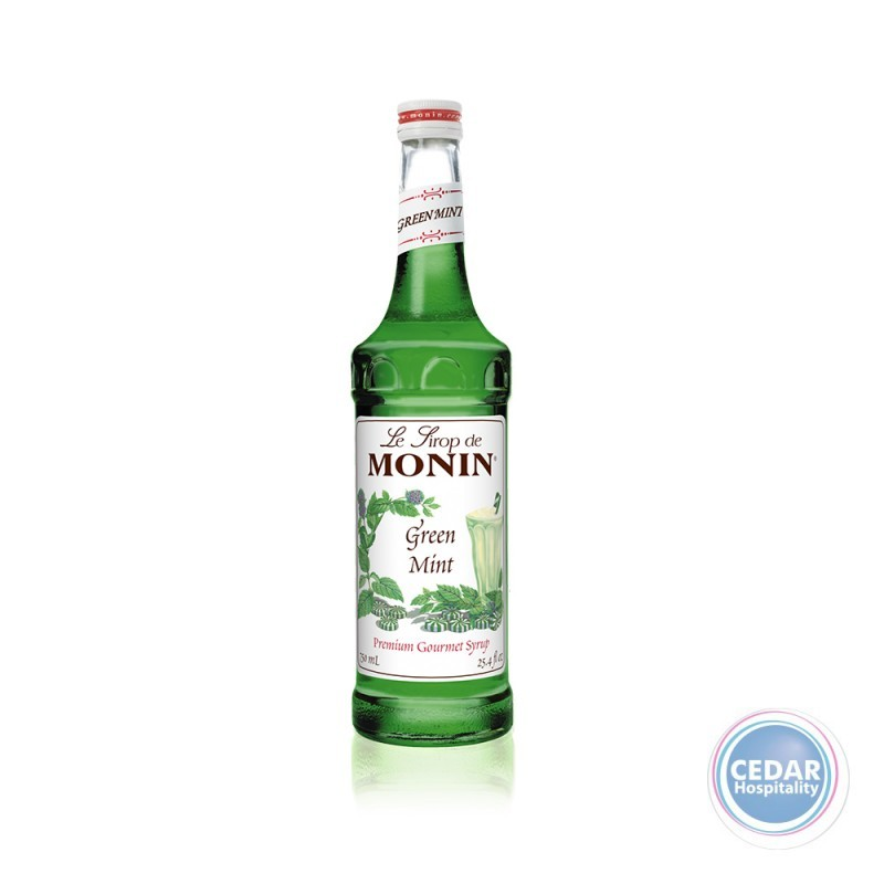 Monin Syrup 700ml - Green Mint