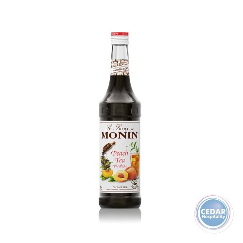 Monin Syrup 700ml - Peach Tea