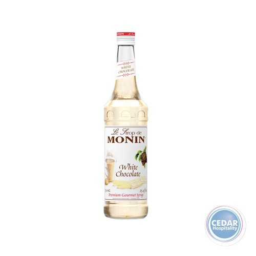 Monin Syrup 700ml - White Chocolate