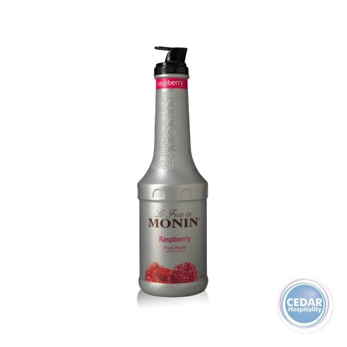 Monin Fruit Mix Puree 1.0Litre - Raspberry