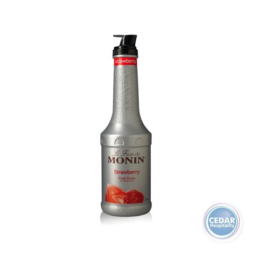 Monin Fruit Mix Puree 1.0Litre - Strawberry