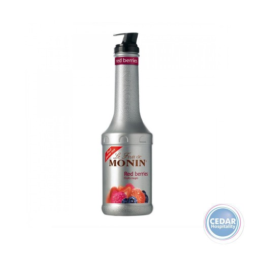 Monin Fruit Mix Puree 1.0Litre - Red Berries