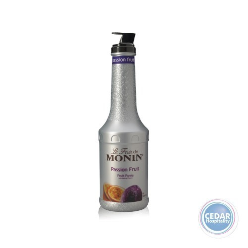 Monin Fruit Mix Puree 1.0Litre - Passionfruit