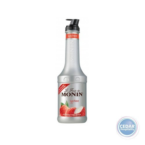 Monin Fruit Mix Puree 1.0Litre - Lychee
