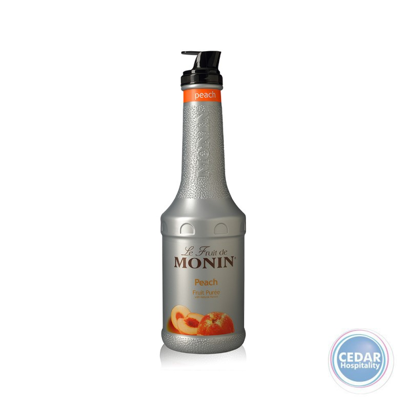 Monin Fruit Mix Puree 1.0Litre - Peach