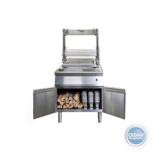 Asado Parilla Grill - Solid Fuel Operated