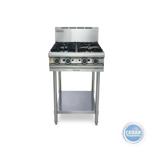 4 Open Top Burner inc Stand