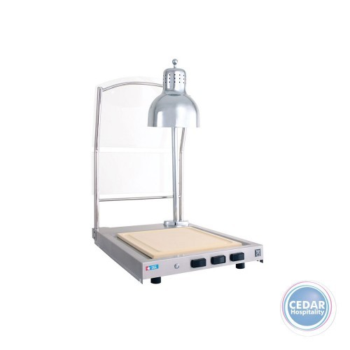 Alto Shaam Carving Station Single Heat Lamp CS100S
