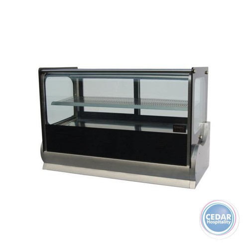 Anvil Cold Square Countertop Showcase 1200mm (190lt)