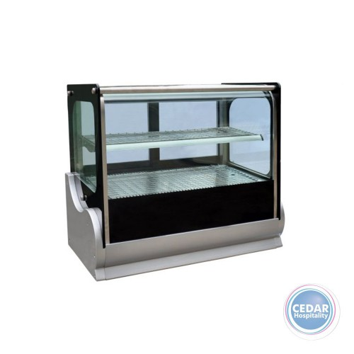 Anvil Hot Square Countertop Showcase 900mm (140lt)