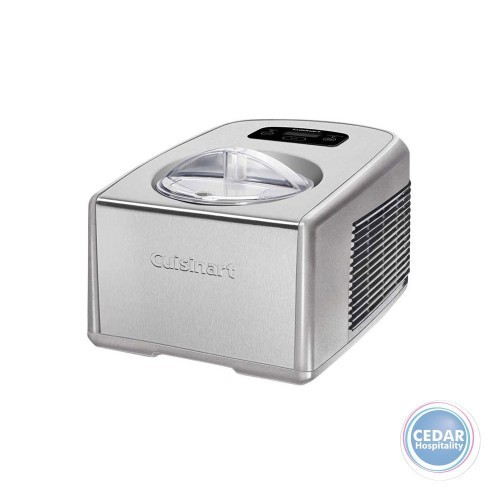 Cuisinart Ice Cream Maker 1.5 Litre with Compressor - Stainless Steel