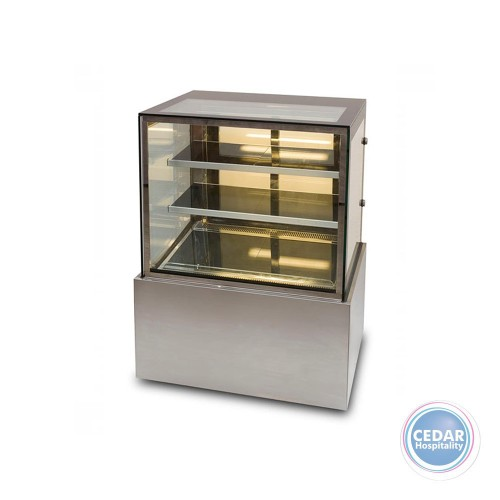 Display Showcase Straight Glass Cold 390Lt