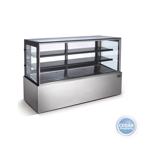 Display Showcase Straight Glass Cold 610Lt