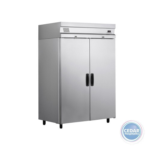 Double Door Upright Fridge