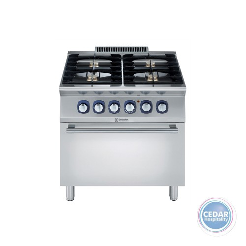 Electrolux 700XP Freestanding 4 Burner Gas Range With Oven Under