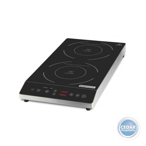 Anvil Double Schott Ceran Glass Top Induction Cooker