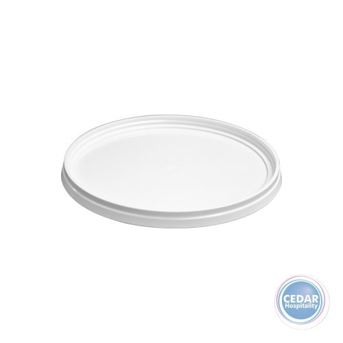 Lid for White Plastic Bucket - 3 Sizes