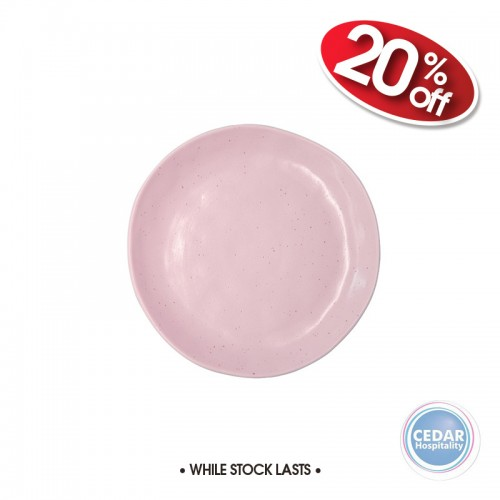 Robert Gordon Earth Pink Side Plate 21.5cm - Limited Edition