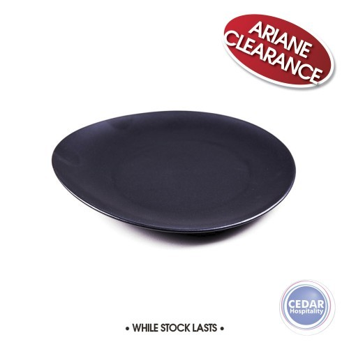 Ariane Vital Coupe Elevated Plate Satin Black - 2 Sizes