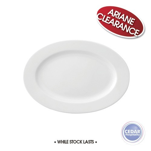 Ariane Prime Oval Plate Wide Rim - 4 Sizes