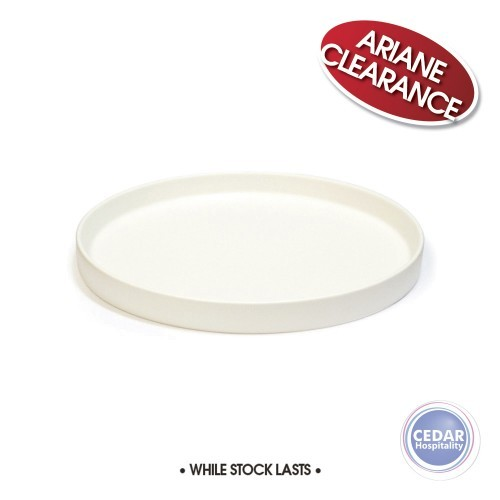 Ariane Selas Straight Plate - Frost White Matt - 3 Sizes