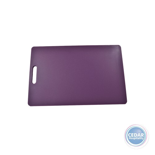 Chef Inox Polyproylene Cutting Board With Handle 300x450x12mm - 3 Colours