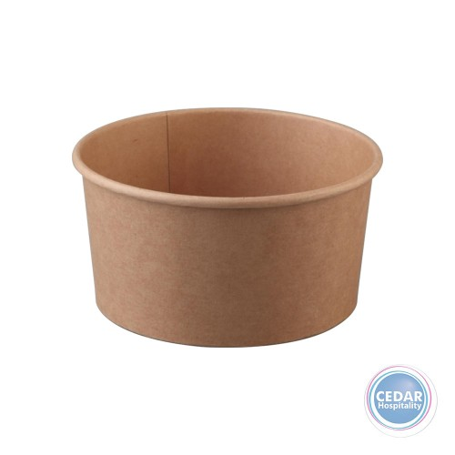 Beta Kraft Food Bowl Large 1000ml Sleeve 50