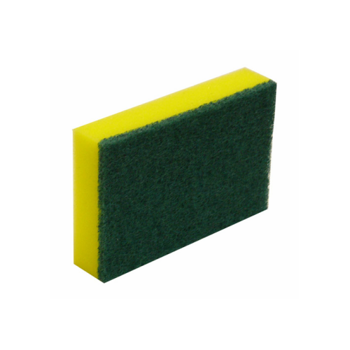 Commercial Grade Green and Gold Sponge