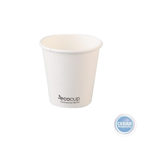 Eco Cup White Take Away Cup Sleeve 50 PCE - 3 Sizes