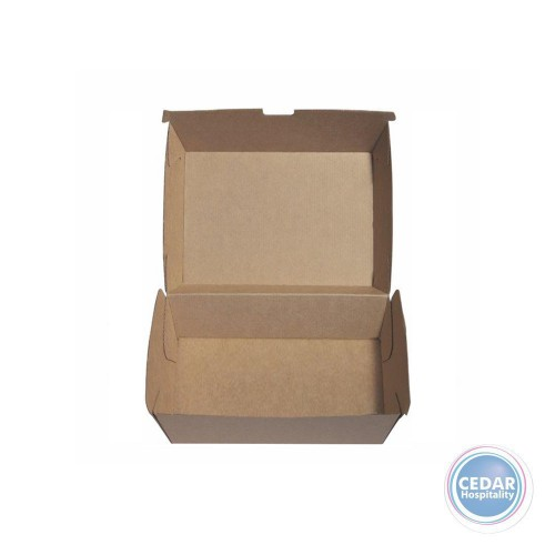 Uniq Kraft Dinner Box Regular Ctn 150 - 180 x 160 x 75mm