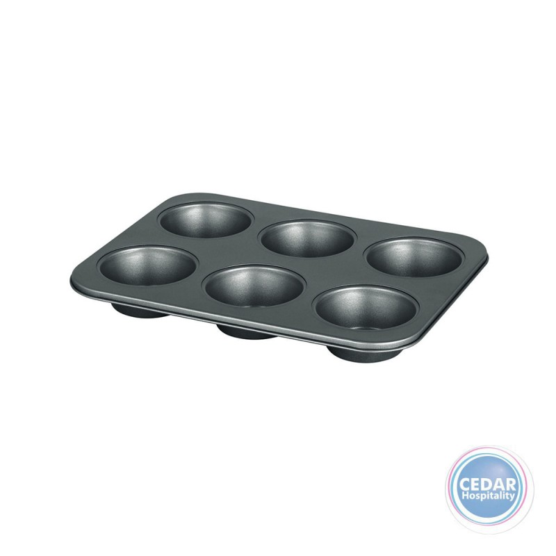 AMERICAN MUFFIN PAN 6 CUP