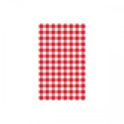 GREASEPROOF PAPER GINGHAM STYLE RED & WHITE