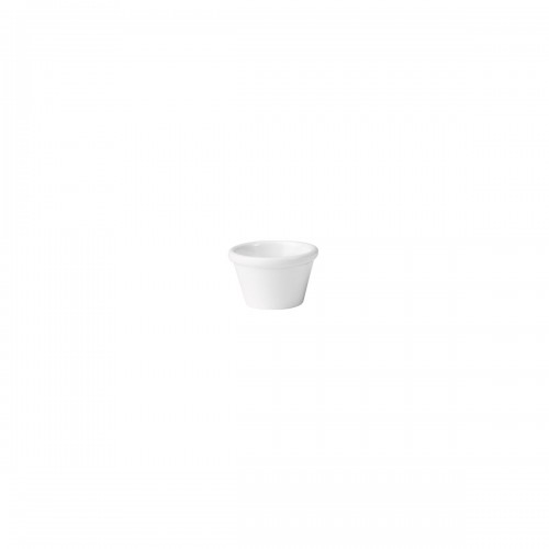 MELAMINE RAMEKIN WHITE 45ML (63 x 40mm)