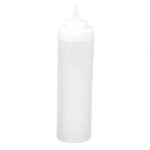 SQUEEZE BOTTLE 720ML  CLEAR