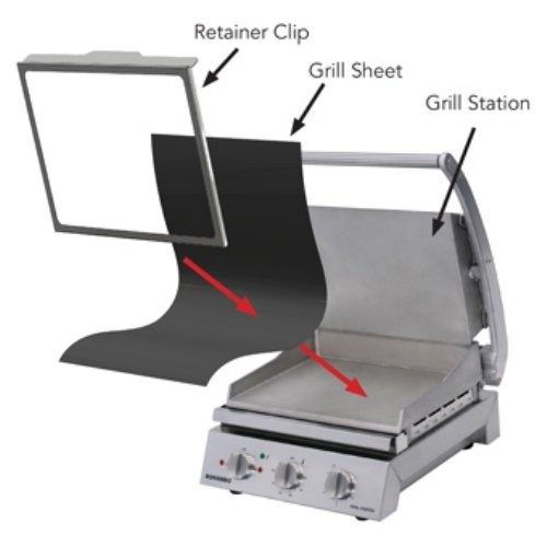ROBAND REMOVABLE PTFE SHEET TO SUIT 8 SLICE GRILL