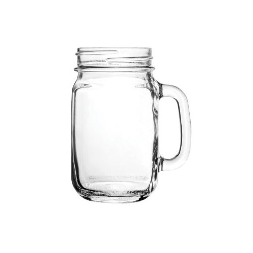 Libbey Drinking Jar Plain 470ml - Box Qty Only - 12 P/Box