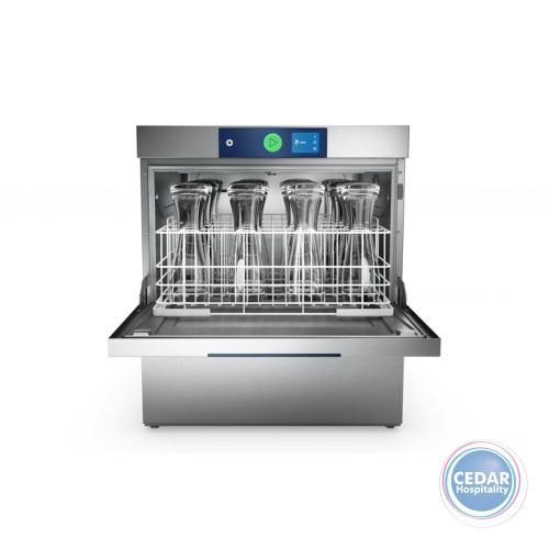 Hobart Profi GXC Low Glasswasher with Integrated Reverse Osmosis 500x500mm Rack