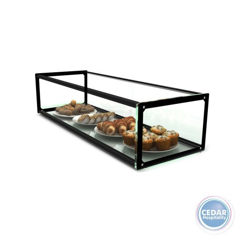 Sayl Ambient Glass Display Single Tier - 555 x 330 x 200mm