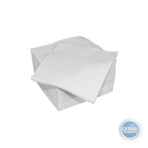 NAPKIN 2PLY COCKTAIL WHITE 2000/CTN