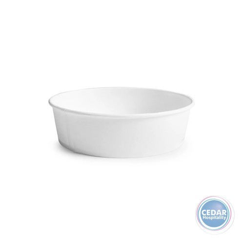 Paper Bowl 1500ml White 168 x 145 x 65mm - Sleeve 50