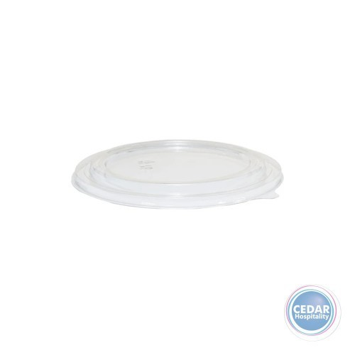 Clear Lids To Suit Paper Bowl 1500ml White - Sleeve 50