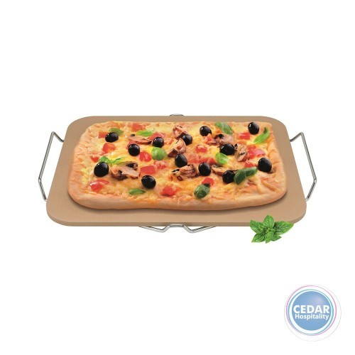 Avanti Rectangular Pizza Stone 30 x 38cm