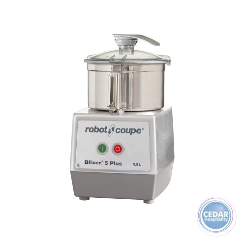 Robot Coupe Blixer 5 Plus - 5.5Lt S/S Bowl Single Phase