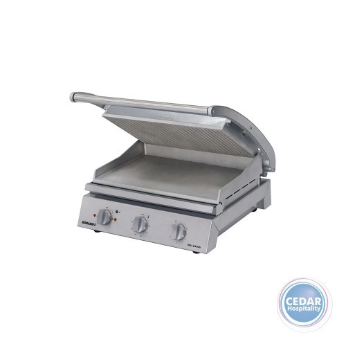 Roband Grill Station 8 Slice Ribbed Top Plate