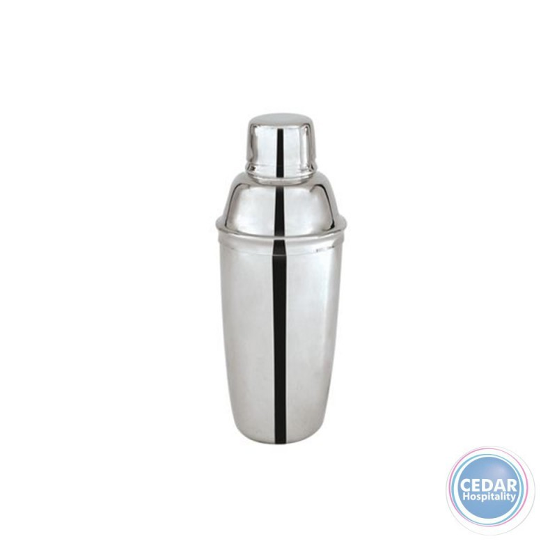 Cocktail Shaker S/Steel 3 Piece - 500ml