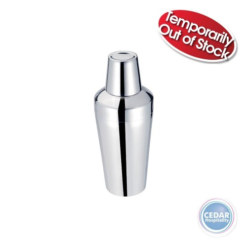 Cocktail Shakers Stainless Steel 3 Piece - 750ml