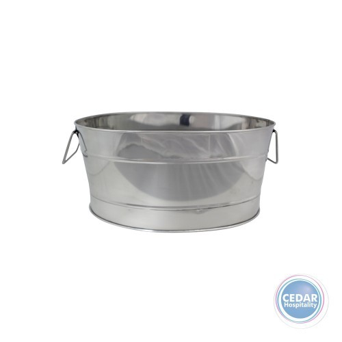 Chef Inox S/S Oval Beverage Tub Mirror Finish