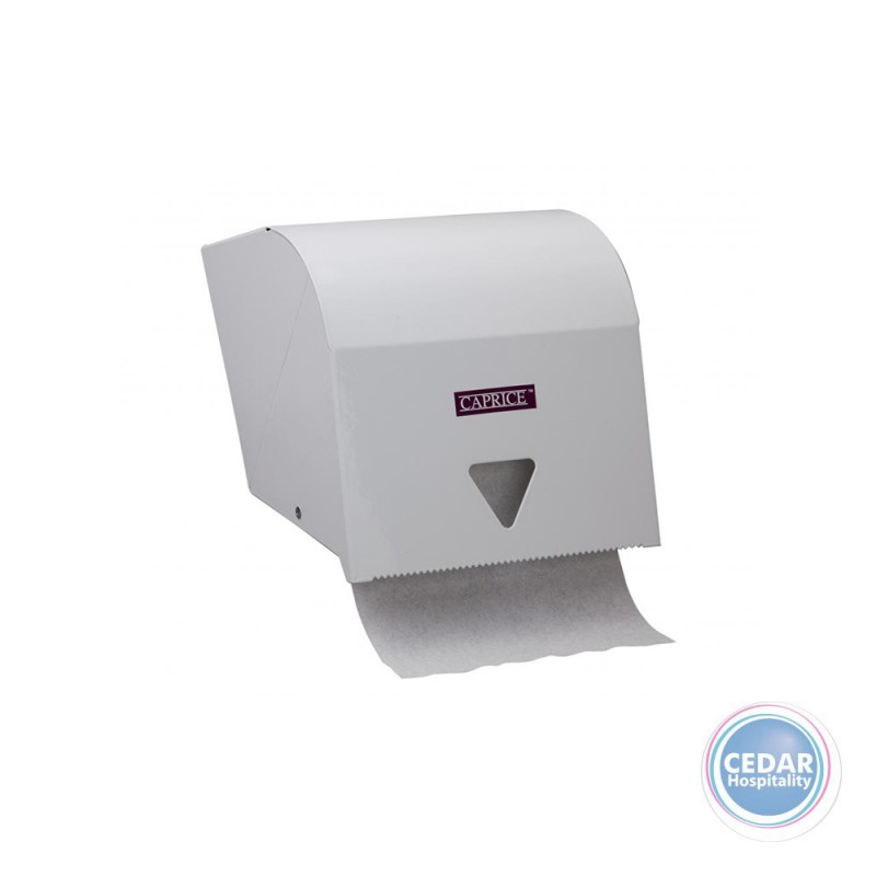 Towel Roll Dispenser Metal White - To Suit DIST00100