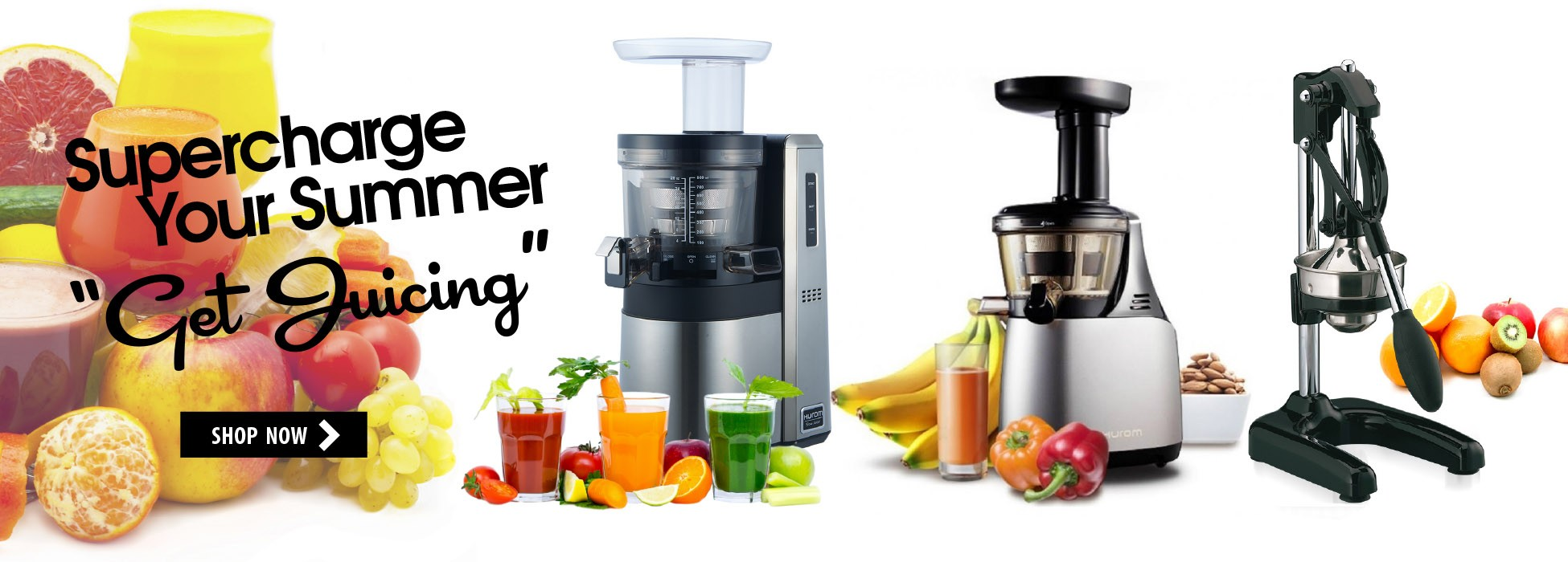 "Supercharge Your Summer ""Get Juicing"""